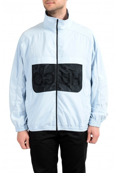 "Hugo Boss ""Balcano1921"" Men's Blue Full Zip Windbreaker Jacket"