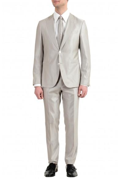 "Hugo Boss ""Novid/Bristow"" Men's Silk Wool Slim Two Button Suit"