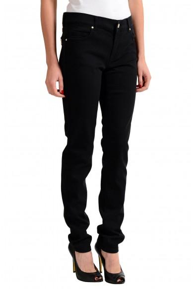 Versace Jeans Black Straight Legs Women's Jeans: Picture 2