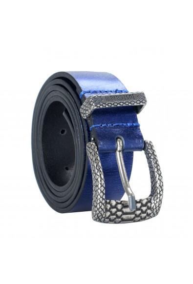Just Cavalli 100% Leather Blue Women's Belt