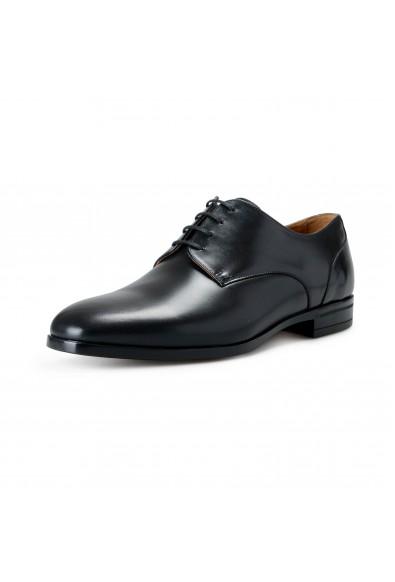 "Hugo Boss Men's ""Portland_Derb_ns"" Black Leather Derby Shoes"