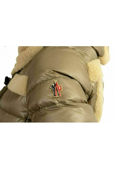 Moncler Women's ALVERNIA Fur Trimmed Hooded Down Parka Jacket: Picture 2