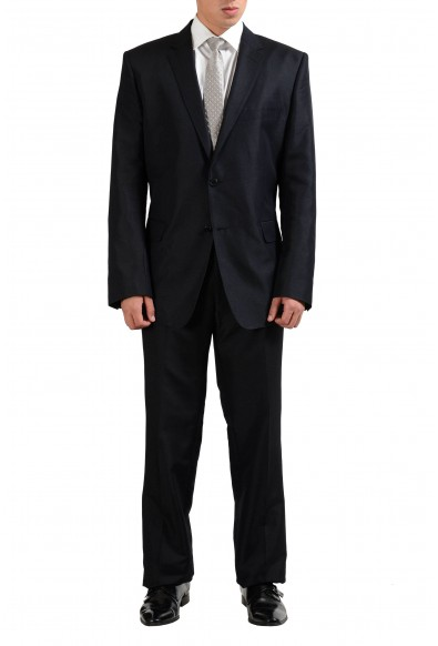 Versace Collection Wool Silk Gray Two Button Men's Suit