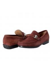 "Salvatore Ferragamo Men's ""GEROLAMO 5"" Brown Suede Leather Loafers Shoes: Picture 8"