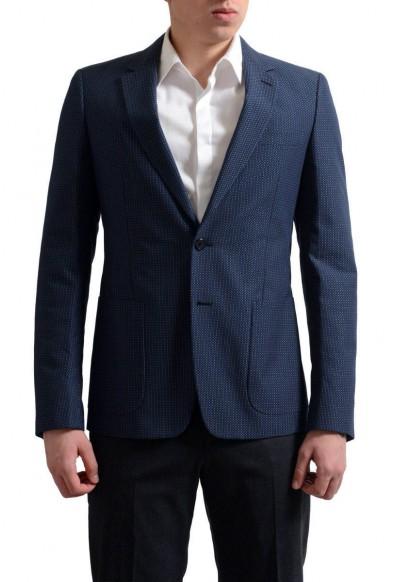 Prada Men's Multi-Color Two Button Sport Coat Blazer