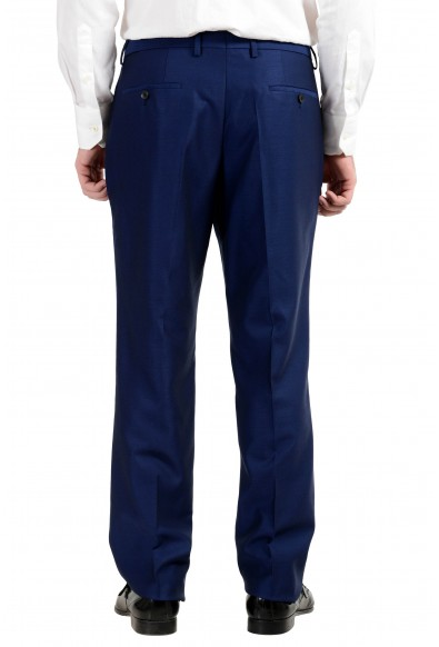 "Hugo Boss ""Huge6/Genius4"" Men's 100% Wool Slim Blue Two Button Suit: Picture 2"