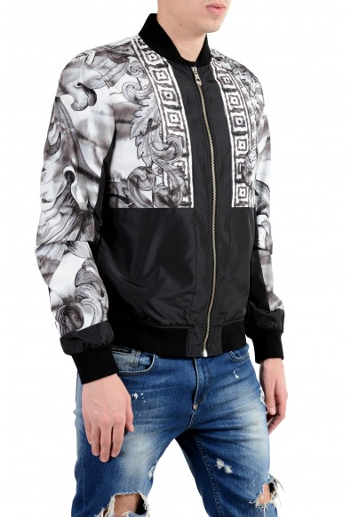 Versace Collection Men's Multi-Color Full Zip Windbreaker Jacket : Picture 2