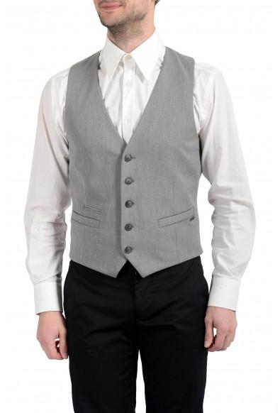 "Hugo Boss ""Batson_BS"" Men's Gray Button Up Vest"