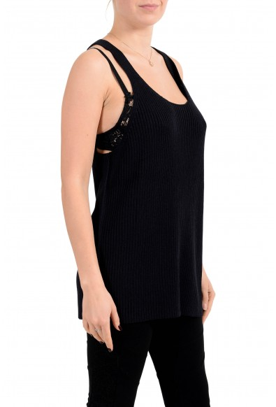 "Hugo Boss Women's ""Fasomina_FS"" Black Knitted Tank Top: Picture 2"
