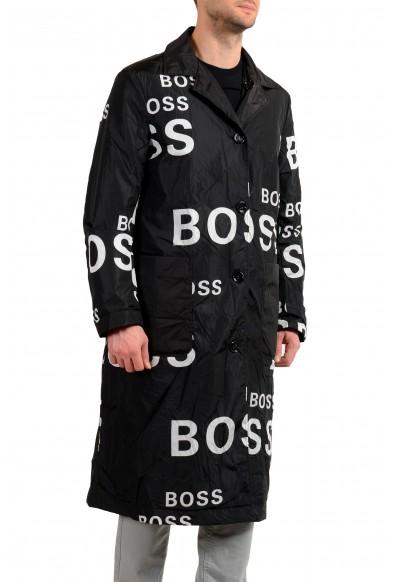 "Hugo Boss Men's ""Dwight"" Logo Print Reversible Insulated Coat: Picture 2"