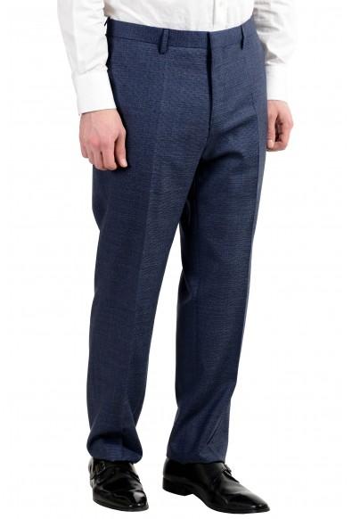 "Hugo Boss ""Phoenix/Madisen"" Men's 100% Wool Comfort Fit Blue Two Button Suit: Picture 2"