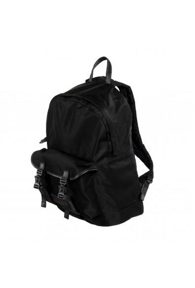 Versace Unisex Black Canvas Backpack Bag: Picture 2