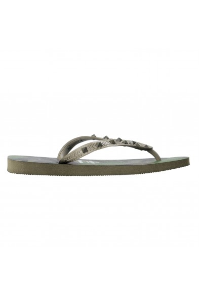 Valentino Garavani By Havaianas Women's Rockstud Camouflage Flip Flops Shoes: Picture 2