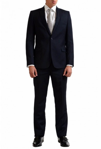 Versace Collection Men's Wool Cashmere Two Button Suit