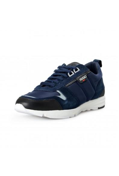 """Hugo Boss Men's """"Hybrid_Runn_nylt"""" Leather Fashion Sneakers Shoes"""