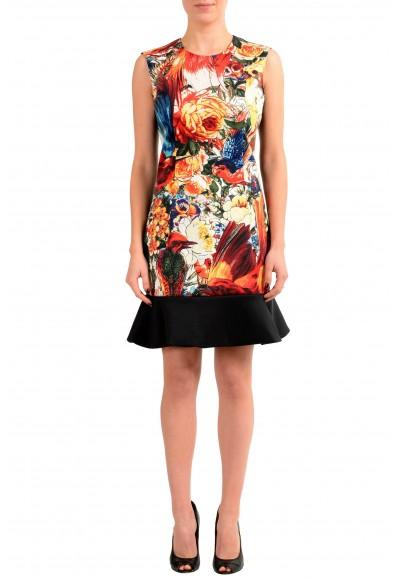 Just Cavalli Multi-Color Sleeveless Women's Sheath Dress