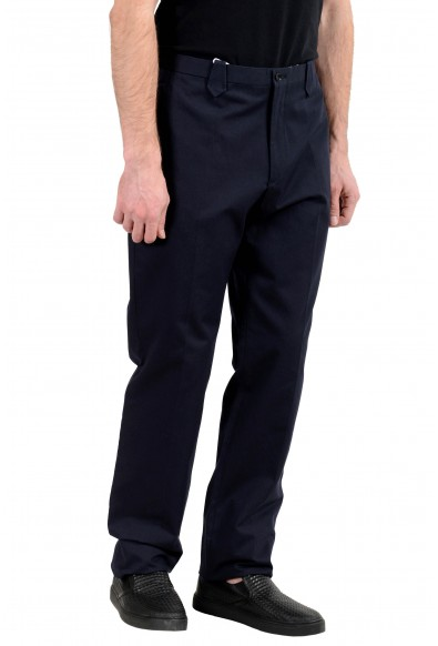 Malo Men's Navy Blue Casual Pants: Picture 2
