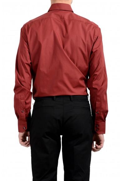"Hugo Boss ""C-Epic"" Men's Red Regular Fit Long Sleeve Dress Shirt: Picture 2"