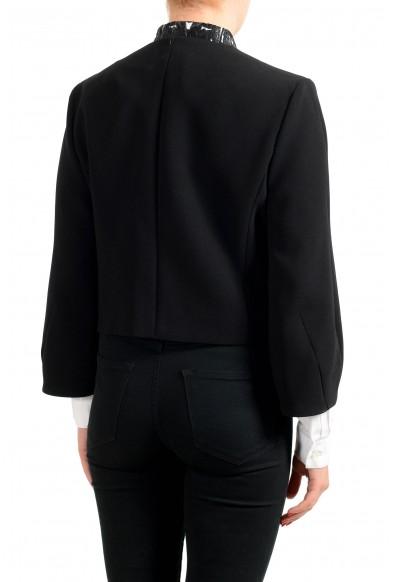 "Hugo Boss Women's ""Jekety"" Black Buttonless Blazer: Picture 2"
