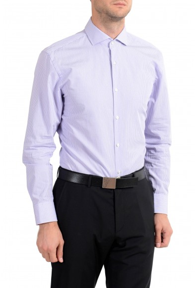 "Hugo Boss ""C-Meli"" Men's Striped Sharp Fit Long Sleeve Dress Shirt: Picture 2"