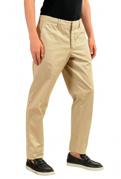 Prada Men's Beige Casual Pants: Picture 2