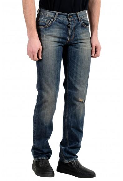 Exte Men's Blue Straight Leg Jeans : Picture 2
