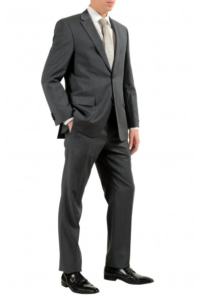 """Hugo Boss """"Paolini1/Movlo1US"""" Men's Dark Gray 100% Wool Two Button Suit: Picture 2"""