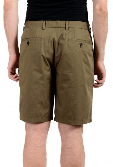 Burberry Men's Olive Green Casual Shorts: Picture 2