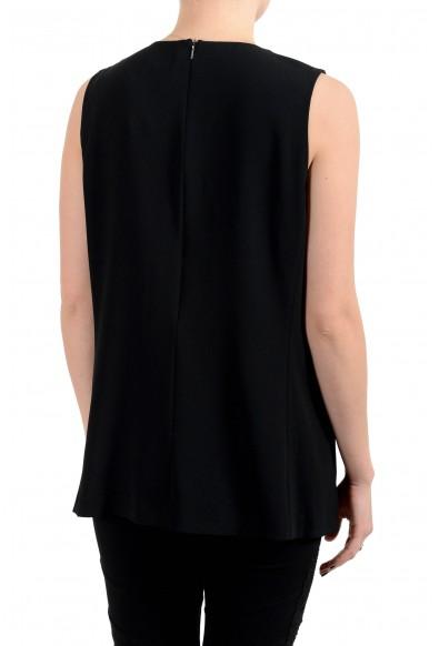 "Hugo Boss Women's ""Llarana_BE"" Black Sleeveless Blouse Top: Picture 2"