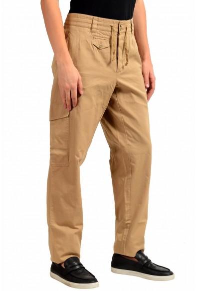 Dolce & Gabbana Men's Beige Cargo Casual Pants: Picture 2