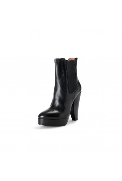 Marni Women's Black High Heel Ankle Boots Shoes