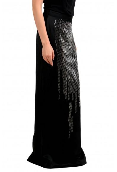 Maison Margiela 2 Black Beads Decorated Women's Maxi Skirt : Picture 2