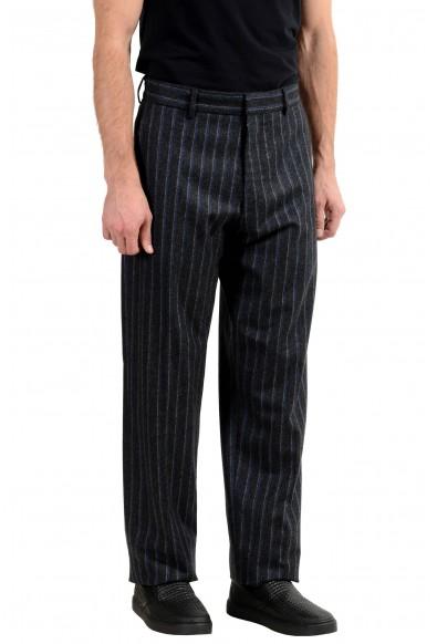 "Hugo Boss ""Parko"" Men's 100% Wool Striped Casual Pants: Picture 2"