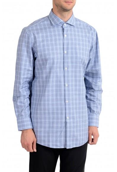 "Hugo Boss ""Mark US"" Men's Plaid Sharp Fit Long Sleeve Dress Shirt: Picture 2"