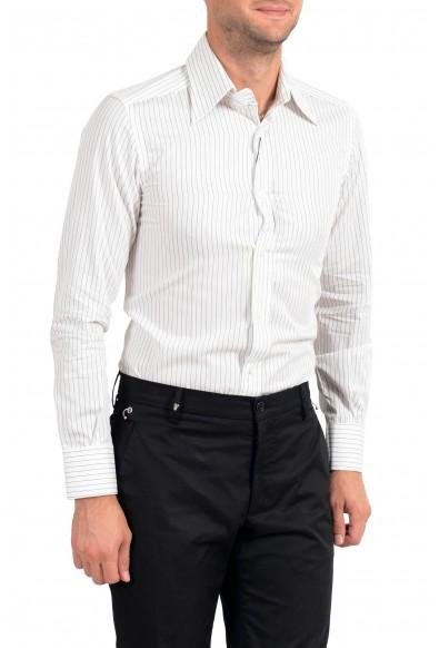 Dolce&Gabbana Men's Striped Long Sleeve Dress Shirt: Picture 2
