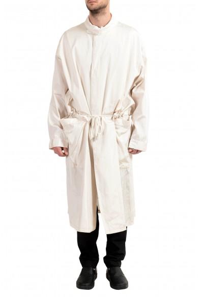 "Hugo Boss ""Cayman_FS"" Men's Beige Button Up Adjustable Coat"