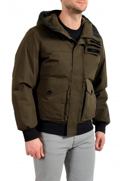 "Hugo Boss Men's ""Disero"" Green Hooded Insulated Mountain Jacket"