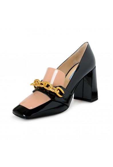Prada Women's 1D802L Patent Leather High Heel Pumps Shoes