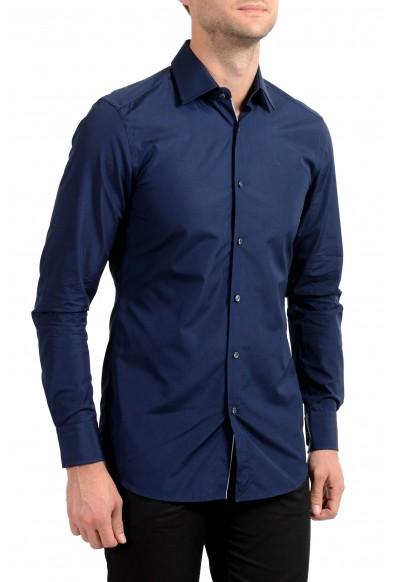"Hugo Boss Men's ""T-Scott"" Slim Fit Blue Long Sleeve Dress Shirt"