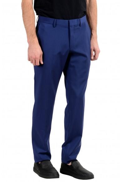 """Hugo Boss """"Huge6/Genius5"""" Men's 100% Wool Blue Slim Dress Pants : Picture 2"""