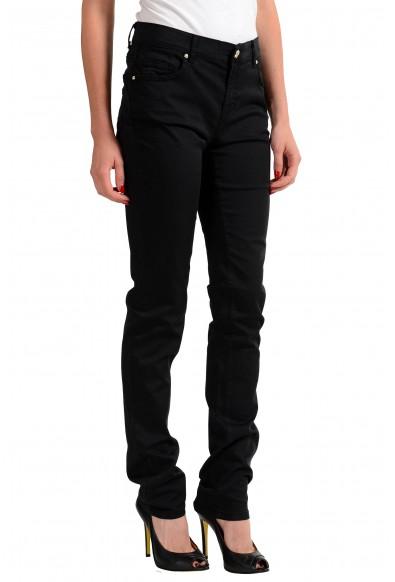 Versace Jeans Black Women's Straight Leg Jeans: Picture 2