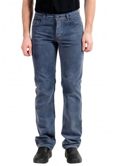 Exte Men's Blue Straight Leg Jeans