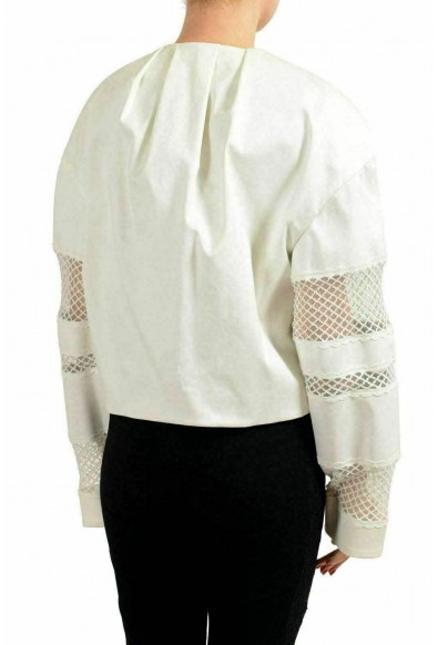 Just Cavalli White Double Breasted Women's Basic Jacket : Picture 2