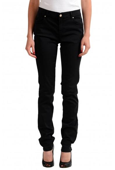 Versace Jeans Black Women's Straight Leg Jeans