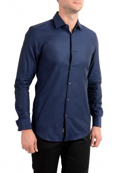 "Hugo Boss Men's ""Jac"" Slim Fit Plaid Long Sleeve Dress Shirt"