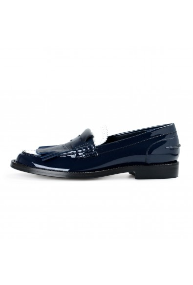 Burberry London Women's MEDMOORE Patent Leather Loafers Moccasins Shoes: Picture 2