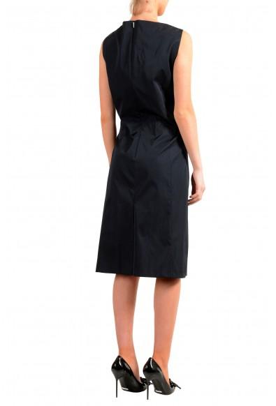 "Hugo Boss Women's ""Dafa"" Black Sleeveless Fit & Flare Dress: Picture 2"