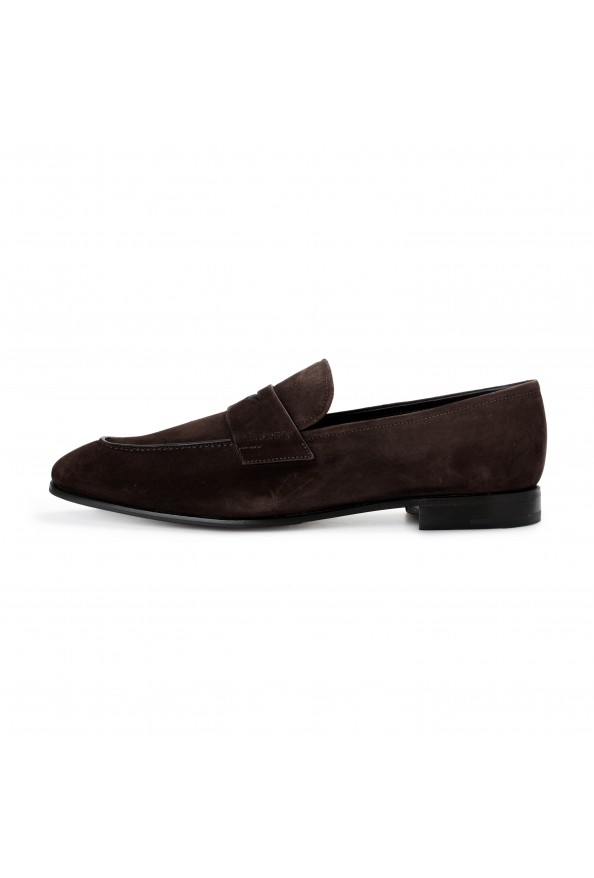 """Prada Men's """"2DB185"""" Brown Suede Leather Loafers Slip On Shoes: Picture 7"""