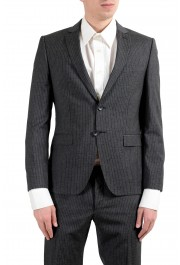 """Hugo Boss """"Reymond/Wented"""" Men's Silk Wool Striped Gray Slim Two Button Suit: Picture 10"""