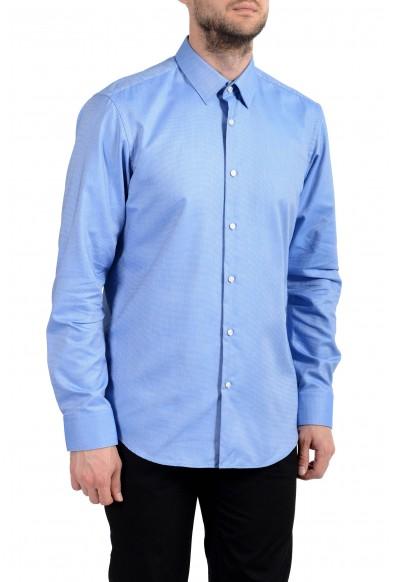 "Hugo Boss ""Eliott"" Men's Blue Long Sleeve Dress Shirt"